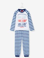 Boys' Striped Long-Sleeved Pyjamas, Cars® Theme