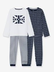 Boys-Nightwear-Boys' Pack of 2 Mix & Match Pyjamas