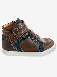 Shoes-Boys Footwear-Boys' High Top Leather Trainers
