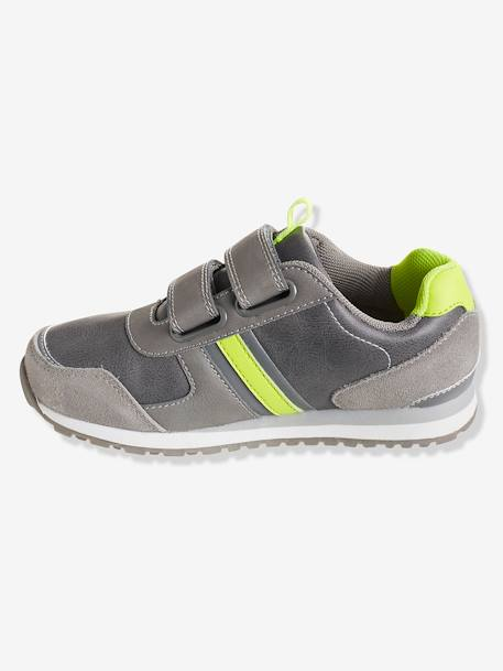 Boys' Touch 'N' Close Trainers GREY LIGHT SOLID