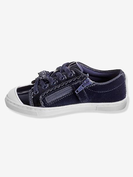 Girls' Shoes BLUE DARK SOLID