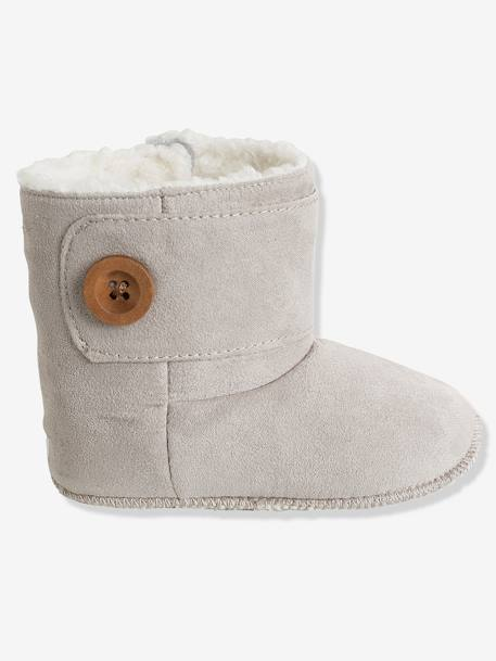 Newborn Baby Soft Bootees Sand