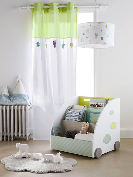Curtain xxxx WHITE LIGHT SOLID WITH DESIGN
