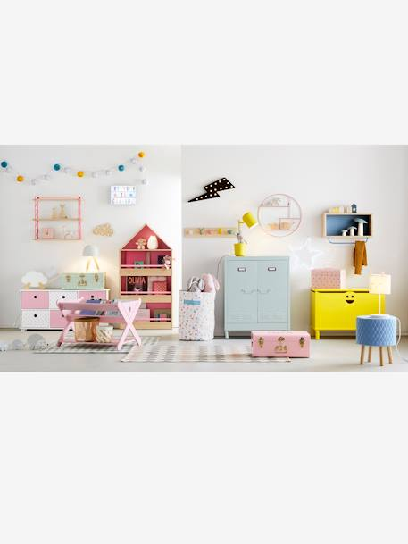 Bookcase PINK LIGHT SOLID
