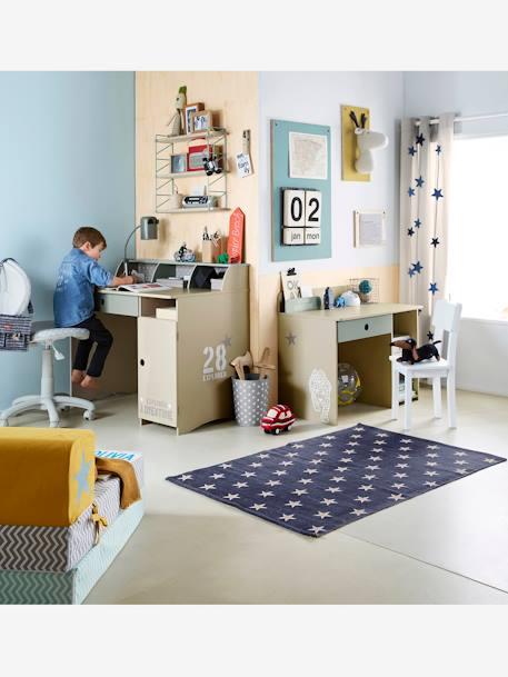 Denim Star Rug Marine / stars