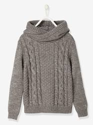 Boys-Cardigans, Jumpers & Sweatshirts-Jumpers-Boys' Hooded Jumper