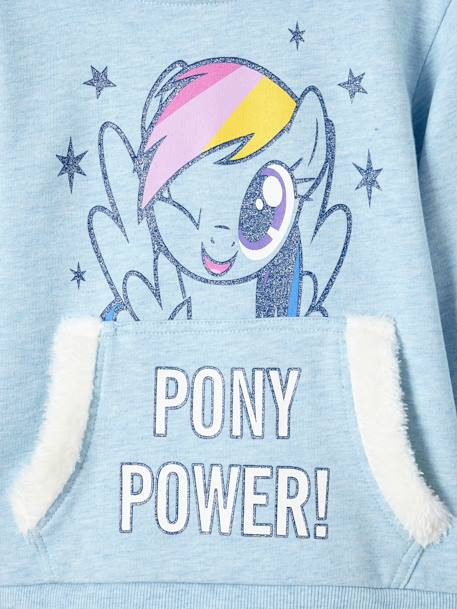 Girls' My Little Pony® Sweatshirt with Glitter BLUE LIGHT MIXED COLOR