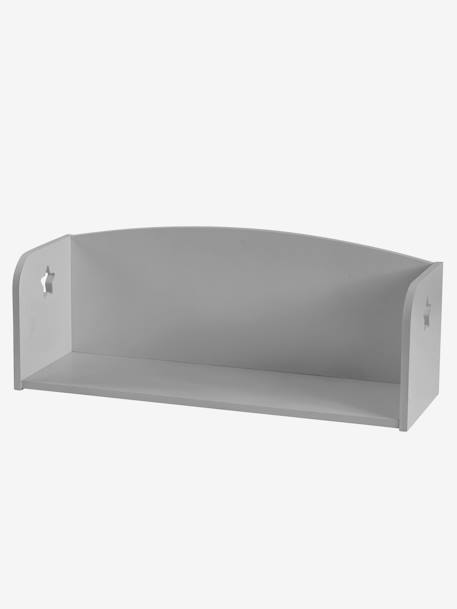 Sirius Wall Bookcase GREY MEDIUM SOLID+WHITE LIGHT SOLID
