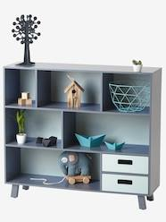 Storage & Decoration-Storages-Two-Tone Bookcase, Madison Theme