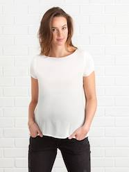 Maternity-Blouses, Shirts & Tunics-Maternity Blouse with Back Opening