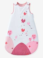 Furniture & Bedding-Baby Bedding-Sleepbags-Sleeveless Sleep Bag, Butterfly Theme