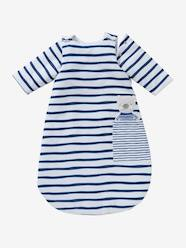 Furniture & Bedding-Long-Sleeved Baby Sleep Bag, Fun Sailor Theme
