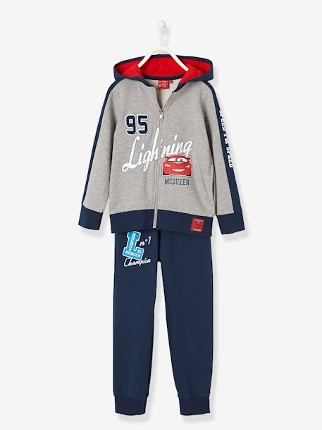 Two-tone CARS® Track Suit GREY MEDIUM MIXED COLOR