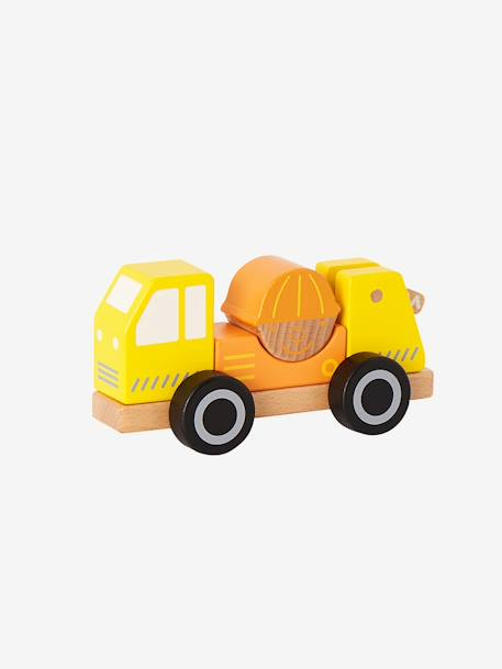 Baby's Truck-Mounted Crane YELLOW MEDIUM SOLID WTH DESIGN