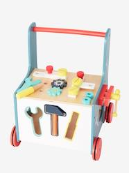 Toys-Workshop Toys-Wooden Tool Bench on Wheels