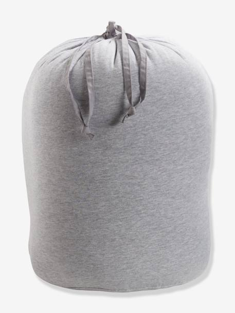 Bear Sleeping Bag GREY LIGHT SOLID WITH DESIGN
