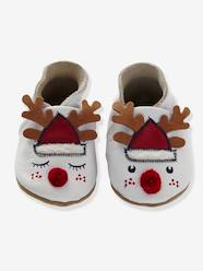 Shoes-Baby Footwear-Slippers-Baby Slippers in Soft Leather