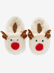 Shoes-Baby Footwear-Slippers-Faux Fur Slippers