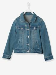 Girls-Coats & Jackets-Jackets-Girls Denim Stretch Jacket
