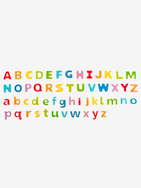 Wooden Magnetic Alphabet, by Hape PINK MEDIUM SOLID WITH DESIG