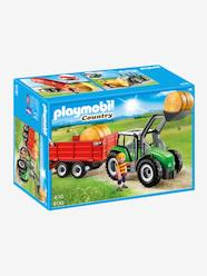 Toys-6130 Large Tractor with Trailer by Playmobil