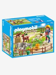Toys-6133 Farm Animal Pen by Playmobil Country