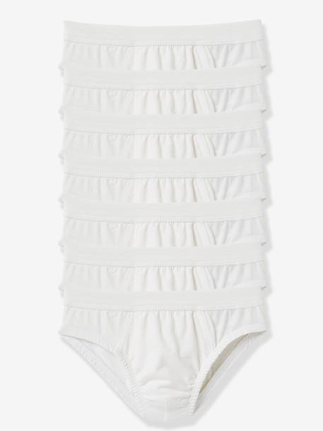 Pack of 7 Boys' Briefs White