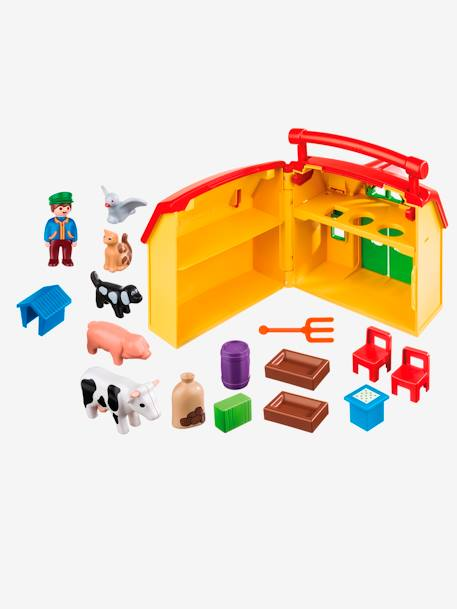 6962 My Take Along Farm by Playmobil 1.2.3 YELLOW MEDIUM 2 COLOR/MULTICOL