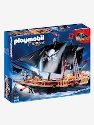 Toys-Playsets-6678 Pirate Raiders' Ship by Playmobil Pirates