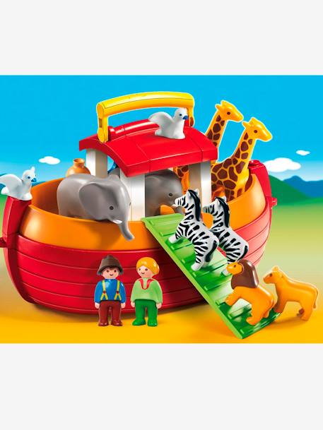 6765 Take Along Noah's Ark by Playmobil 1.2.3 YELLOW MEDIUM 2 COLOR/MULTICOL
