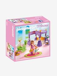 Toys-Playsets-6851 Princess Chamber with Cradle by Playmobil