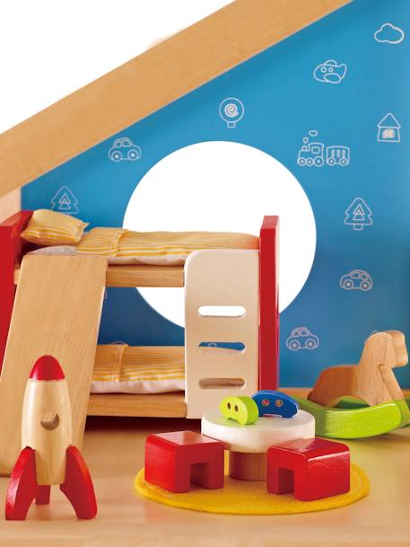 Children's Wooden Bedroom, by HAPE BEIGE LIGHT SOLID WITH DESIGN