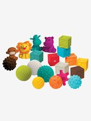 Bluebox Set of 8 Balls, 4 Animals and 8 Sensorial  Cubes