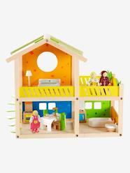 Toys-Playsets-HAPE Wooden House