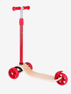 Image of HAPE Scooter red light solid with design