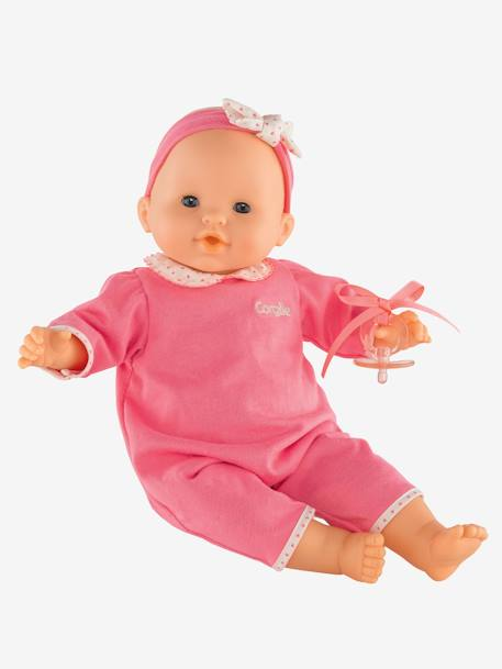 Mon Bébé Classique Pink Baby Doll, by Corolle PINK MEDIUM SOLID WITH DESIG