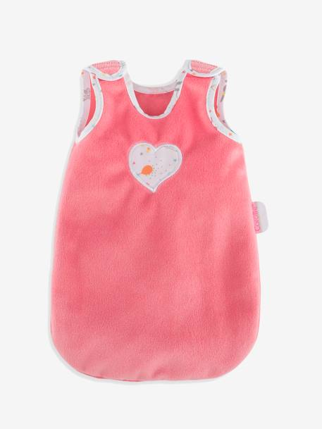 Baby's First Sleep Bag, by Corolle PINK LIGHT SOLID WITH DESIGN
