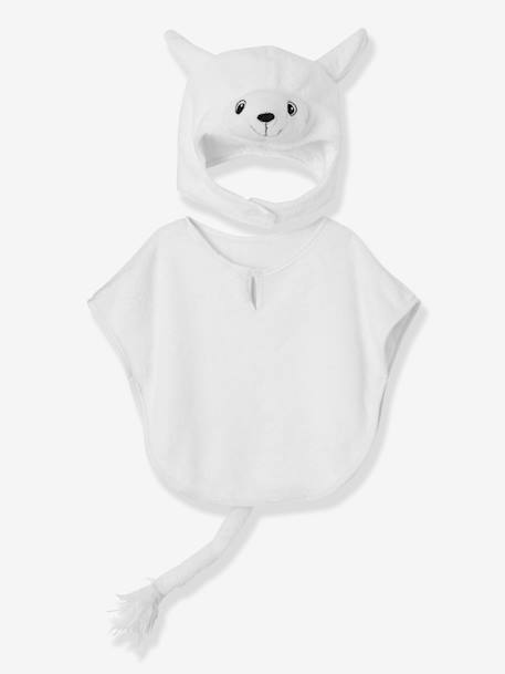 Children's Sheep Costume WHITE LIGHT SOLID WITH DESIGN