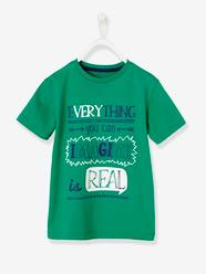 Boys' T-Shirt with Wording