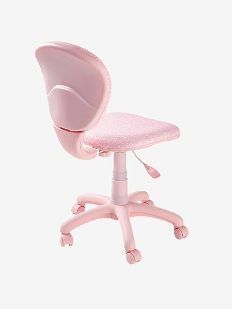 Swivel Chair Pink/flowers
