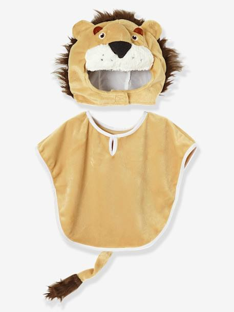 Children's Lion Costume BEIGE LIGHT SOLID WITH DESIGN