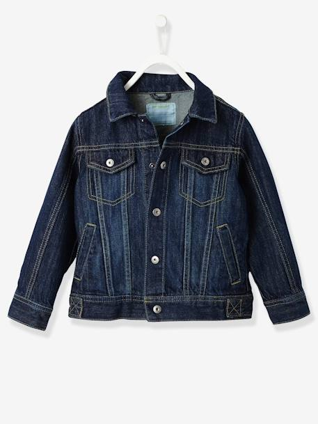 Boys Denim Jacket Stonewashed