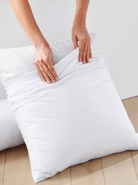 Hot-Wash Pillow Protector White