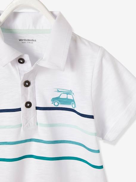 POLO SHIRT BLUE MEDIUM SOLID WITH DESIGN+GREEN LIGHT SOLID WITH DESIGN+WHITE LIGHT SOLID WITH DESIGN