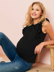 Maternity Top with Frill