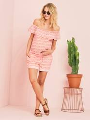 Maternity Off-the-Shoulder Playsuit