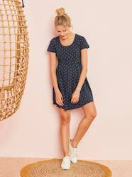 Knit Maternity Short Sleeve Dress
