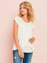 Maternity & Nursing Cross-Over T-Shirt