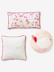 Set of 3 Cushions, Birdy Love