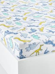 Furniture & Bedding-Child's Bedding-Fitted Sheets-Children's Fitted Sheet, DINOMANIA Theme
